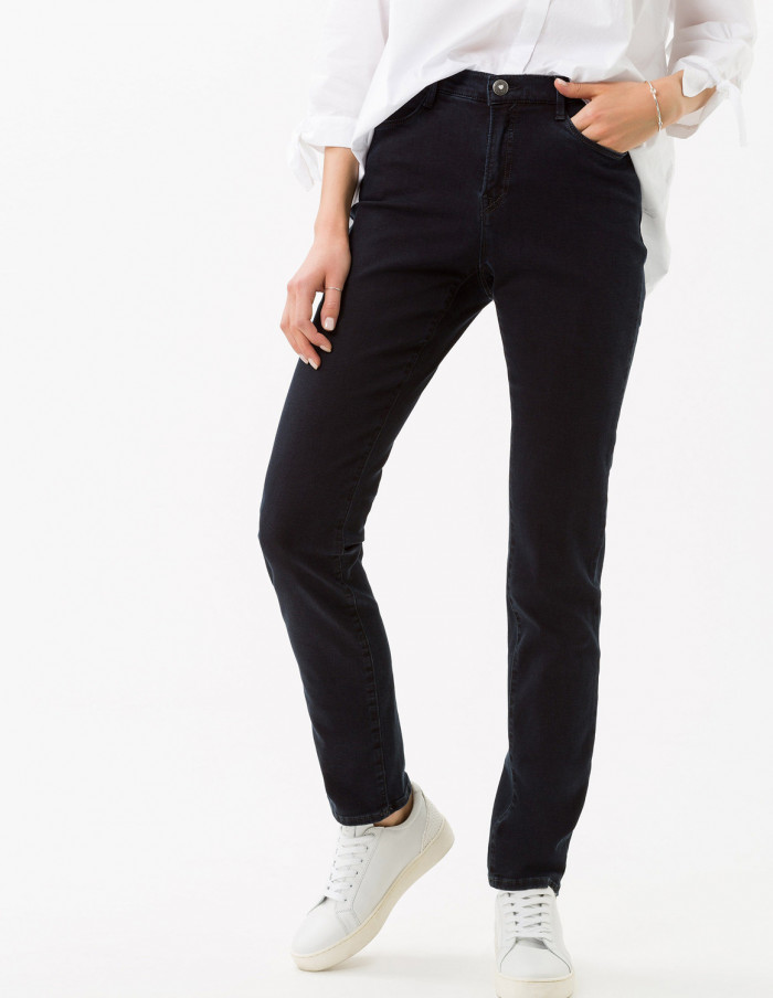 Jeans Mary Clean Dark Blue Längd 34