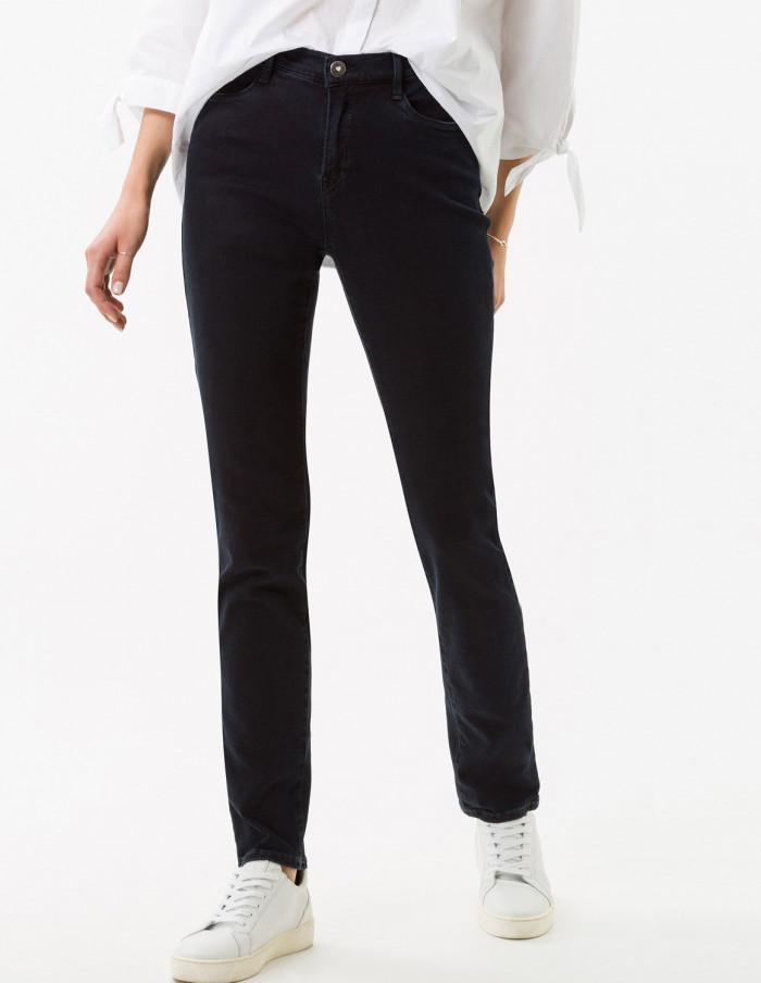 Jeans Carola Clean Dark Blue Längd 30